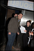 IVAN MASSOW; Opening of the Trouble Club., Lexington St. Soho London. 6 November 2014