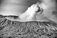 Volcano at Mount Bromo of Indonesia