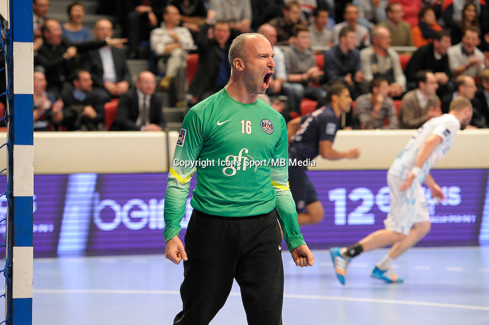 Thierry Omeyer - 03.12.2014 - PSG / Montpellier - 12eme journee de D1<br />Photo : Andre Ferreira / Icon Sport