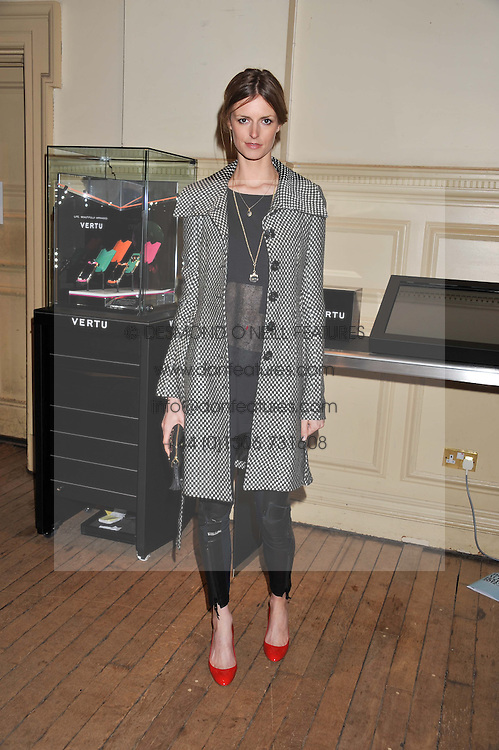 JACQUETTA WHEELER at the Vogue Festival 2012 in association with Vertu held at the Royal Geographical Society, London on 20th April 2012.