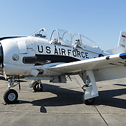 A U.S. Air Force jet is pictured during Aviation Day Saturday October 11, 2014 at Wilmington International Airport in Wilmington, N.C. (Jason A. Frizzelle)