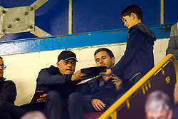 Manchester United Manager Jose Mourinho watches on a Burnley ahead of their Premier League fixture - Mandatory by-line: Robbie Stephenson/JMP - 30/08/2018 - FOOTBALL - Turf Moor - Burnley, England - Burnley v Olympiakos - UEFA Europa League Play-offs second leg
