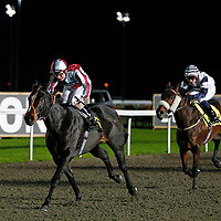 Pretty Bubbles and Freddie Tylicki winning the 5.10 race