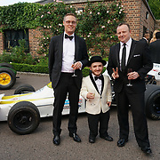 Hurlingham Club ,London, England, UK. 10th July, 2017. Mark Paul Jones,Leigh Gill attend The Grand Prix Ball attracted a host of star-studded celebrity guests last night at Hurlingham Club , including Formula 1 drivers as well as iconic Formula 1 cars. Guests mingled with the elite whist being enterained with live performances by award winning UK artists and DJs ahead of the British Grand Prix at Silverstone.