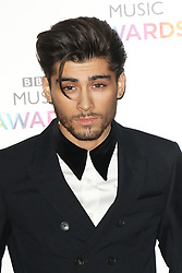 Zayn Malik has left One Direction, says the band © Licensed to London News Pictures. 11/12/2014, UK. Zayn Malik, BBC Music Awards, Earls Court Exhibition Centre, London UK, 11 December 2014<br />
