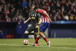February 20, 2019 - Madrid, Spain - Diego Costa (Atletico de Madrid)  in action during the match   UCL Champions League match between Atletico de Madrid vs Juventus at the Wanda Metropolitano stadium in Madrid, Spain, February 20, 2019  (Credit Image: © Enrique De La Fuente/NurPhoto via ZUMA Press)