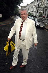 MARTIN BELL at the annual Sir David & Lady Carina Frost Summer Party in Carlyle Square, London SW3 on 5th July 2007.<br />