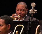 Wynton Marsalis and the Jazz at Lincoln Center Orchestra brought their show to the Belk Theater in Charlotte North Carolina. One of the most talented group of jazz musicians, their range of music is like having a live jukebox of any style of jazz or blues you can imagine.