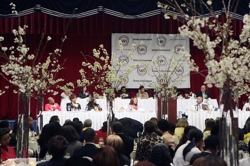 8 April 2011- New York,  NY- Atmosphere at the The National Action Network Women's Council Women's Power Luncheon held at The Sheraton New York Hotel and Towers on April 8, 2011 in New York City. Photo Credit: Terrence Jennings