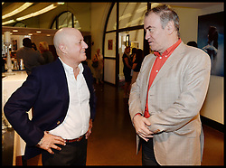 L to R Ronald O.Perelman, Conductor Valery Gergiev, attend the National Youth Orchestra of The United States of America Reception at the <br /> The Royal Albert Hall hosted be Ronald O.Perelman, London, United Kingdom,<br /> Sunday, 21st July 2013<br /> Picture by Andrew Parsons / i-Images