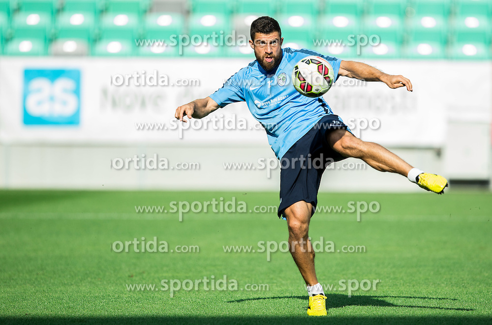 Bojan Jokic during practice session of Slovenian National Football Team before Euro 2016 Qualifications match against England, on June 12, 2015 in SRC Stozice, Ljubljana, Slovenia. Photo by Vid Ponikvar / Sportida