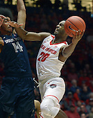 UNM vs Utah State mens basketball 01/24/17