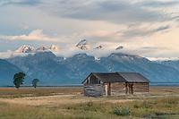 Moulton cabin on Mormon Row, Grand Teton National Park Wyoming