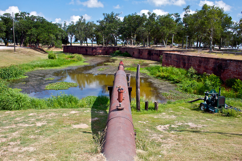Fort Jackson, Plaquemines Parish, Louisiana, USA