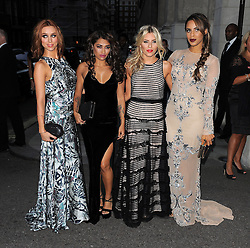 The Saturdays, Una Healy, Vanessa White, Mollie King and Rochelle Wiseman attend the Pride of Britain awards at Grosvenor House in London, UK. 07/10/2013<br />