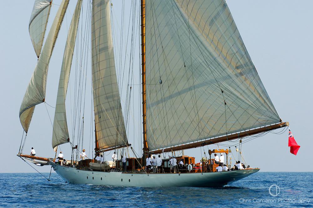 The classic gaff schooner, Invader. 21/6/2006