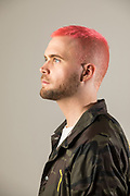 Christopher Wylie, a Canadian data analytics expert who worked for Cambridge Analytics. Wylie is the whistleblower who exposed Cambridge Analytics' illegal data mining of Facebook. The data was used to helkop elect Donald Trump and help Brexit become a reality.