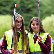 03.04.2017        <br /> Laurel Hill Secondary School, Limerick takes part in TLC3. <br /> Pictured are students, Ciara Downey and Amy Rochford. Picture: Alan Place.