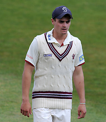 Somerset's 12th Man Sam Underdown - Photo mandatory by-line: Harry Trump/JMP - Mobile: 07966 386802 - 07/07/15 - SPORT - CRICKET - LVCC - County Championship Division One - Somerset v Sussex- Day Three - The County Ground, Taunton, England.