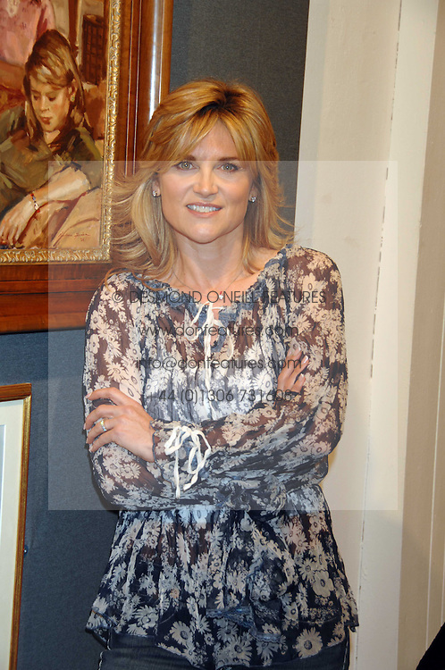 ANTHEA TURNER at the opening of the Royal Society Of Portrait Painters annual exhibition 2007 held at The Mall Galleries, The Mall, London on 25th April 2007.<br /><br />NON EXCLUSIVE - WORLD RIGHTS