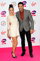 Wimbledon Party<br /> Cara Santana and Jesse Metcalfe attends the annual pre-Wimbledon party at Kensington Roof Gardens,<br /> London, United Kingdom<br /> Thursday, 20th June 2013<br /> Picture by Chris  Joseph / i-Images