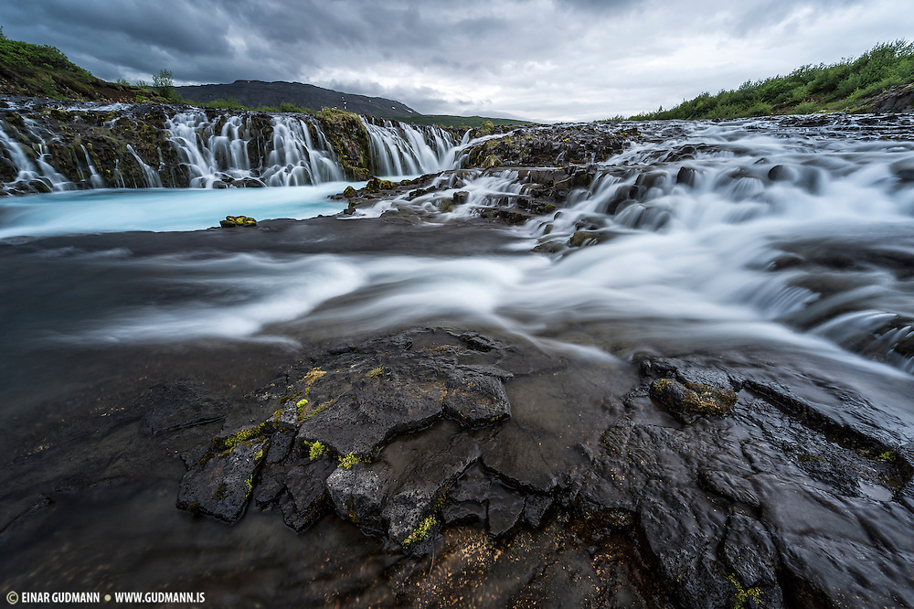 Brúarfoss in south-Iceland
