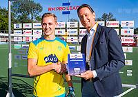 AMSTELVEEN -  Jacob Anderson (Austr.) , man of the match, . Semi Final Pro League  women, Australie-Groot Brittannie (6-1). COPYRIGHT KOEN SUYK