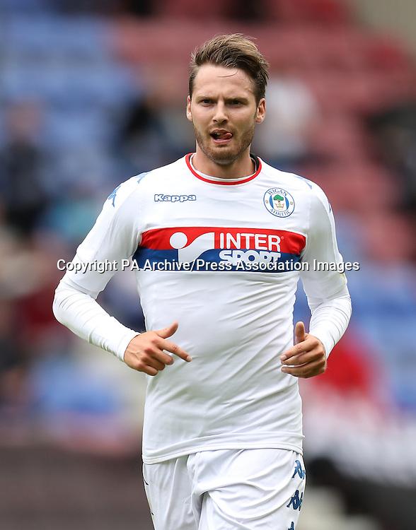 Wigan Athletic's Nick Powell
