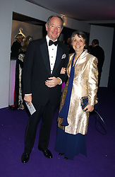 MR & MRS MICHAEL BUERK he is the news reader at The British Red Cross London Ball - H2O The Element of Life, held at The Room by The River, 99 Upper Ground, London SE1 on 17th November 2005.<br /><br />NON EXCLUSIVE - WORLD RIGHTS