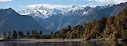 Lake Matheson, New Zealand (12x33 inch print)