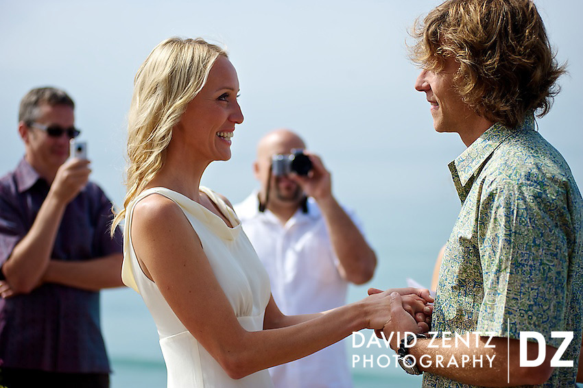 The wedding of Alan Pottasch and Veronika Vrbacka in San Onofre State Park, Calif., on Sept. 12, 2010.