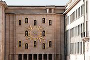 Mont des Arts clock, Brussels, Belgium
