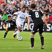 D.C. United take on AC Milan in a friendly at RFK Stadium in Washington, D.C.