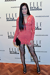 JESSIE J at the 17th Elle Style Awards 2014 in association with Warehouse held at One Embankment, 8 Victoria Embankment, London on 18th February 2014.