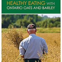 Cookbook cover for Healthy Eating with Ontario Oats and Barley