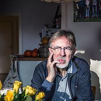 Nederland, Gronsveld, 10 maart 2016.<br /> Kinderboekenschrijver Jacques Vriens<br /> <br /> Foto: Jean-Pierre Jans