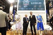 MILANO 17 FEBBRAIO<br /> BASKET <br /> PRESENTAZIONE ALL STAR GAME MILANO<br /> NAZIONALE ITALIANA MASCHILE<br /> NELLA FOTO PETERSON PIANIGIANI<br /> FOTO CIAMILLO