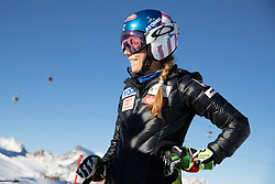 26.10.2018, Rettenbachferner, Soelden, AUT, FIS Weltcup Ski Alpin, Soelden, Training, im Bild Mikaela Shiffrin (USA) // Mikaela Shiffrin of the USA during a practice session prior to the FIS Ski Alpine Worldcup opening at the Rettenbachferner in Soelden, Austria on 2018/10/26. EXPA Pictures © 2018, PhotoCredit: EXPA/ Johann Groder