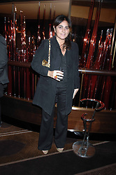 SOLANGE AZAGURY-PARTRIDGE at the launch of the 4th Fashion Fringe - a search to recruit the hottest, undiscovered fashion desugn talent in the UK and Ireland, held at The Bar at The Dorchester, Park Lane, London on 13th March 2007.<br /><br />NON EXCLUSIVE - WORLD RIGHTS