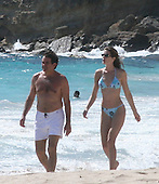 Stephanie Seymour in St Barth 12/26/2006