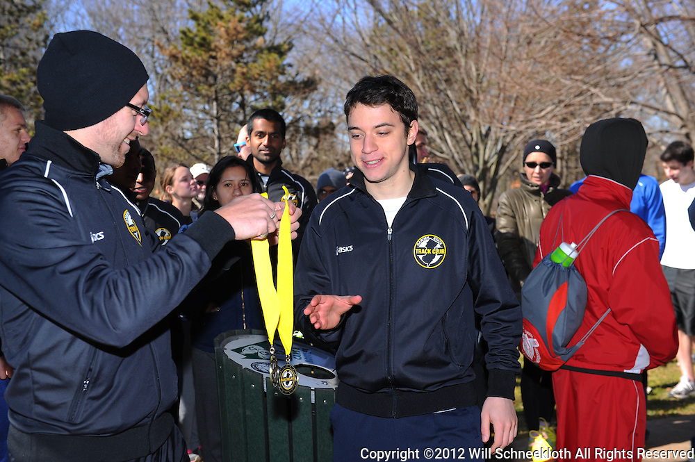 Garden State Track Club Road Relays II at Buccleuch Park in New Brunswick, N.J.