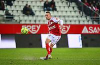 Gaetan COURTET - 25.01.2015 - Reims / Lens  - 22eme journee de Ligue1<br /> Photo : Dave Winter / Icon Sport *** Local Caption ***