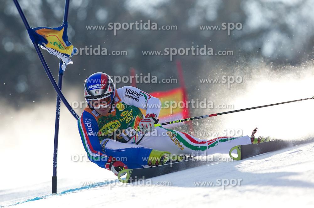 Manfred Moelgg of Italy competes during 1st Run of Men's Giant Slalom of FIS Ski World Cup Alpine Kranjska Gora, on March 5, 2011 in Vitranc/Podkoren, Kranjska Gora, Slovenia.  (Photo By Vid Ponikvar / Sportida.com)