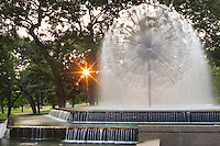 Berger fountain in Loring Park. Loring Park is the largest park in the Central Community of Minneapolis, Minnesota on the southwest corner of downtown Minneapolis. It also lends its name to the surrounding neighborhood.