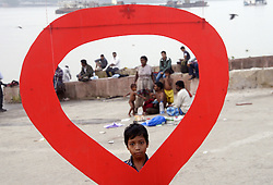 November 30, 2016 - Kolkata, West Bengal, India - Thalasaemia and AIDS Prevention Society member organize a awareness program on eradication of HIV/AIDS and its stigma, panic and discrimination from our society ahead of Worlds AIDS day. World AIDS day is observed annually on December 1 to raise awareness about HIV/AIDS and to demonstrate solidarity in the face of pandemic. (Credit Image: © Saikat Paul/Pacific Press via ZUMA Wire)