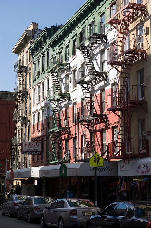 Little Italy Manhattan New York..Mulberry Street ..Photo © Stefan Falke.