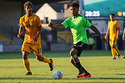 Forest Green Rovers Reuben Reid(26) on the ball during the Pre-Season Friendly match between Torquay United and Forest Green Rovers at Plainmoor, Torquay, England on 10 July 2018. Picture by Shane Healey.
