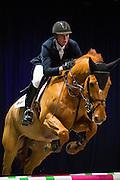 Pieter Clemens - Denver de Liebri Z<br /> Indoor Drachten 2017<br /> © DigiShots
