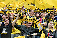 Vitesse fans , KNVB Beker finale AZ - Vitesse, 30-4-2017, voetbal, seizoen 2016-2017, Stadion de Kuip Rotterdam
