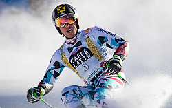 18.12.2016, Grand Risa, La Villa, ITA, FIS Ski Weltcup, Alta Badia, Riesenslalom, Herren, 2. Lauf, im Bild Marcel Hirscher (AUT, 1. Platz) // race winner Marcel Hirscher of Austria reacts after his 2nd run of men's Giant Slalom of FIS ski alpine world cup at the Grand Risa race Course in La Villa, Italy on 2016/12/18. EXPA Pictures © 2016, PhotoCredit: EXPA/ Johann Groder